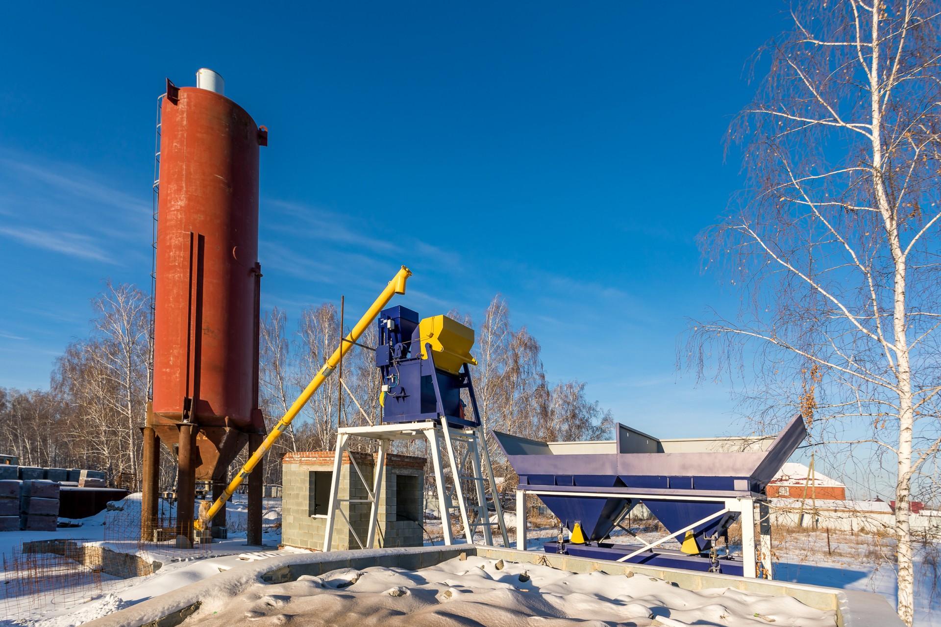Открытие бетонного завода