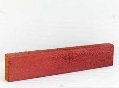 Бордюр тротуарный (красный)